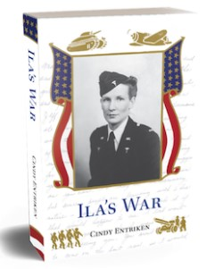 "Cover of ""Ila's War"" book"
